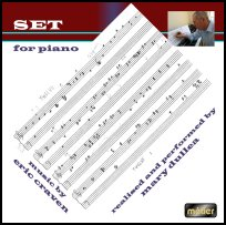 CD Cover - Set for Piano